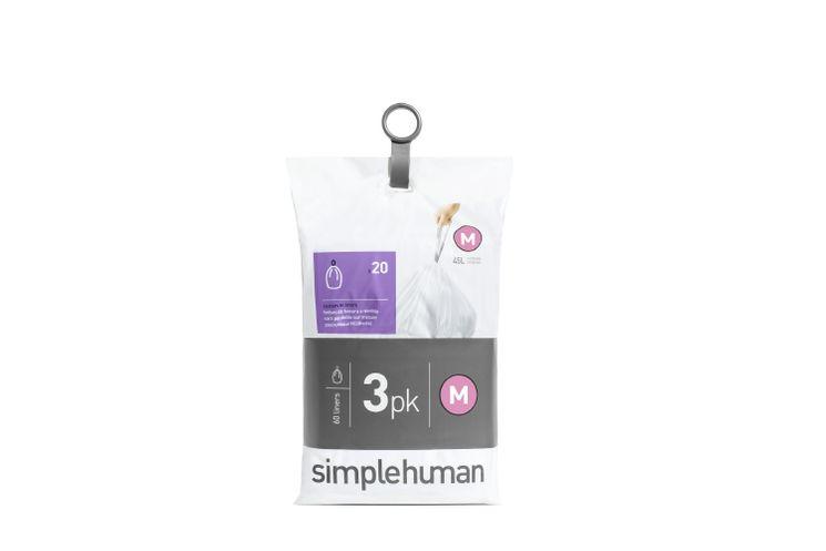 60 sacs-poubelles 45l - Simplehuman