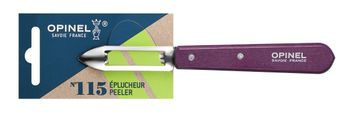 COUTEAU EPLUCHEUR N°115 -  COULEUR PRUNE - OPINEL