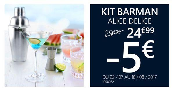 Kit Barman -5€