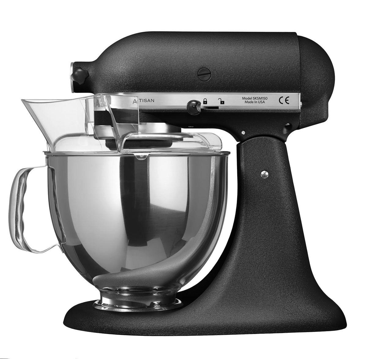 robot artisan truffe noire 4.8l 5ksm175ps - kitchenaid | alice délice