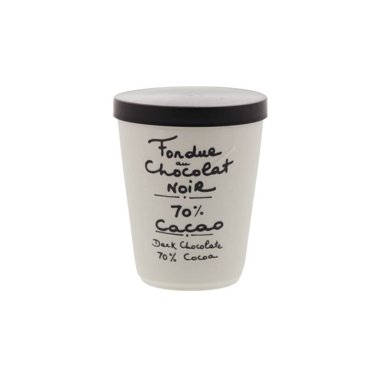 Fondue noir cacao - Aux Anysetiers du Roy