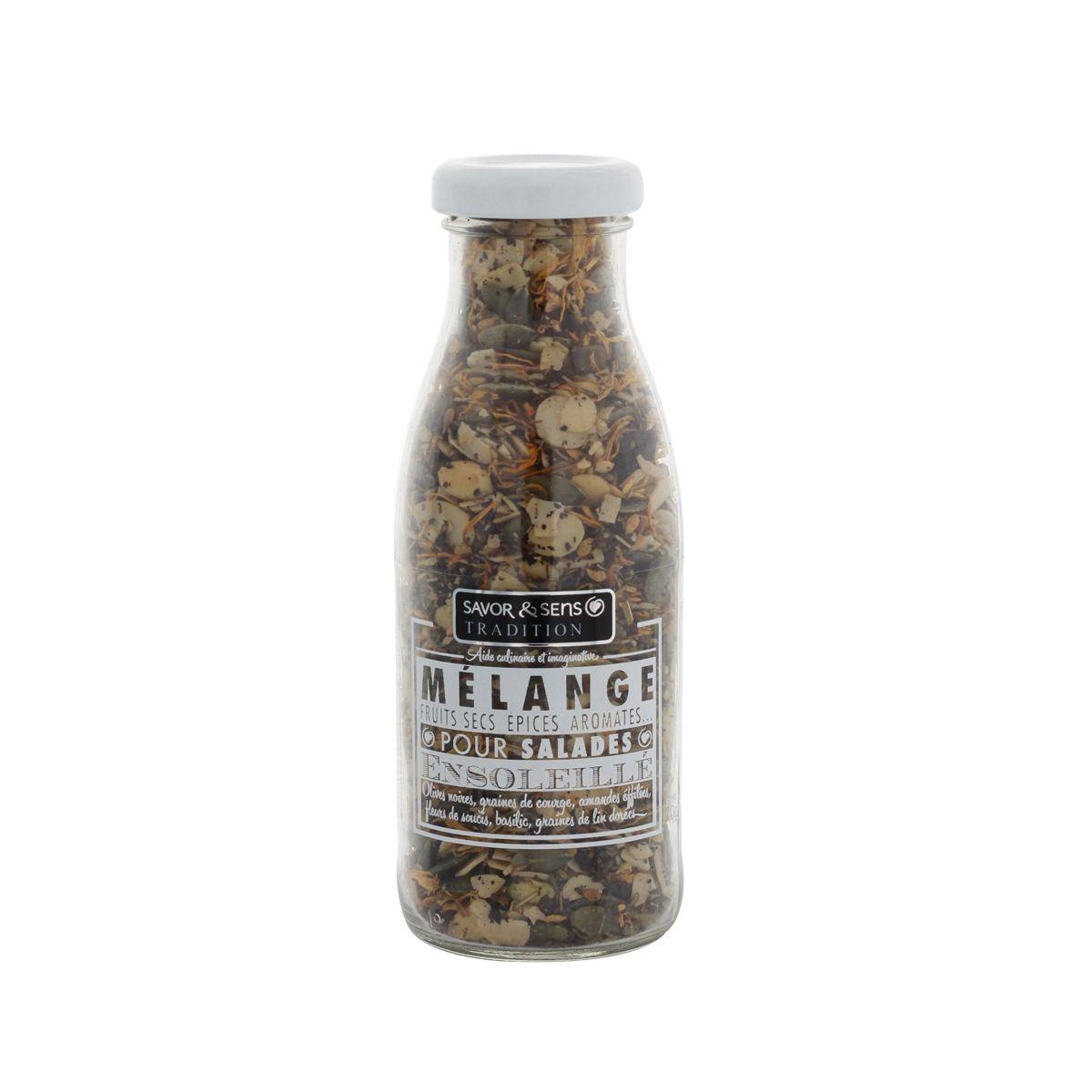 Mélange salade ensoleillé