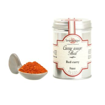 CURRY ROUGE THAI 60GR - TERRE EXOTIQUE