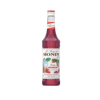 Achat en ligne Sirop fraise bonbon 70 cl - Monin