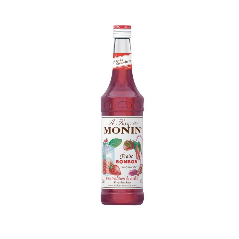 Sirop fraise bonbon 70cl - Monin