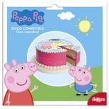 Disque en sucre Peppa Pig 16cm - deKora