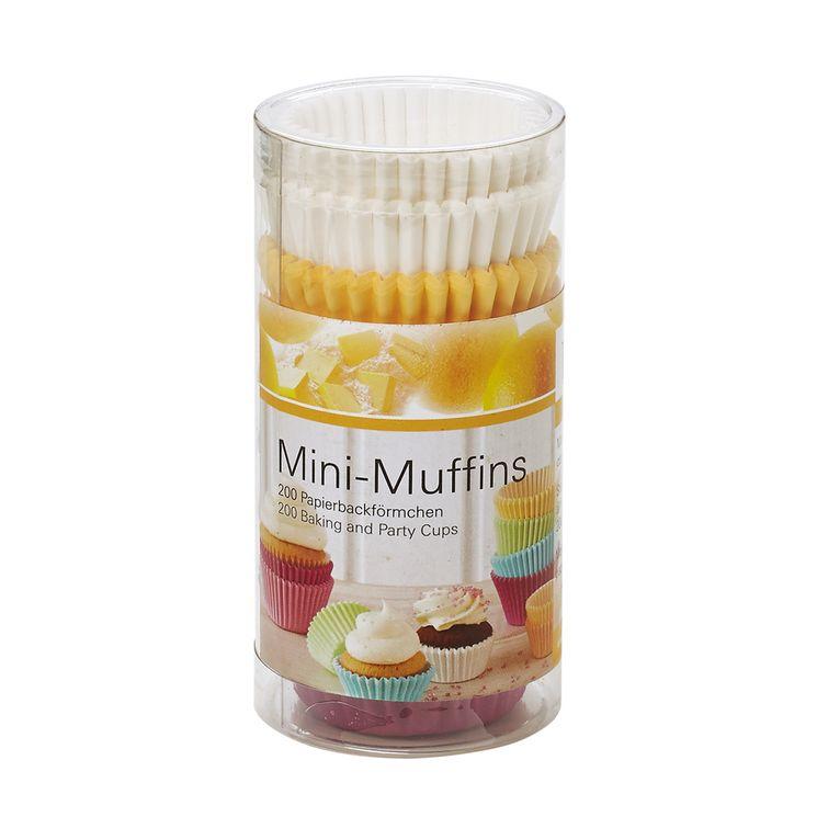 200 moules à mini muffins en papier 4 cm - Birkmann