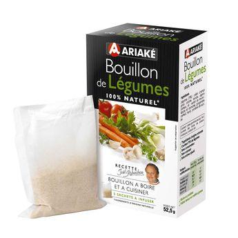 Achat en ligne Bouillon de légumes 52gr - Ariake