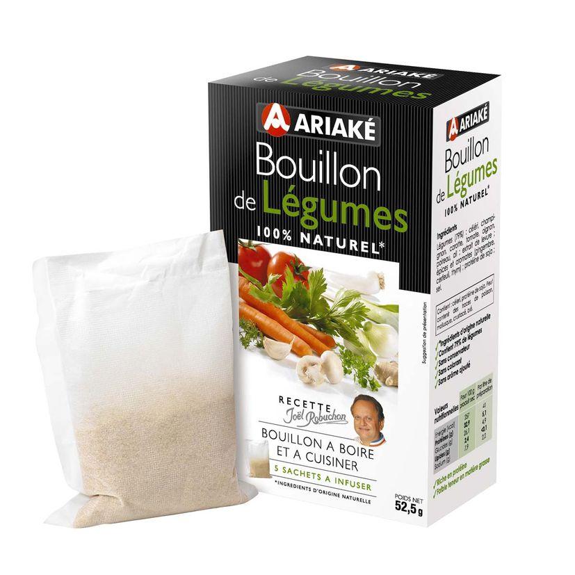 Bouillon de légumes 52gr - Ariake