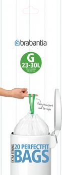 Achat en ligne 20 sacs-poubelle 23-30l - Brabantia