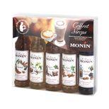 COFFRET CAFES GOURMANDS 5 MIGNONNETTES 5 X 50ML - MONIN