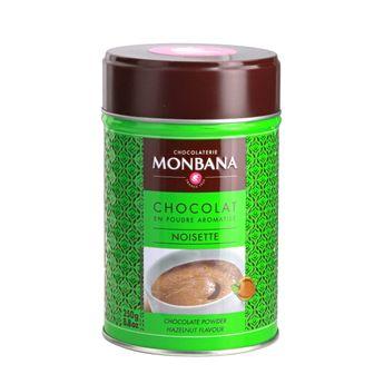 CHOCOLAT EN POUDRE SAVEUR NOISETTE 250 GR - MONBANA