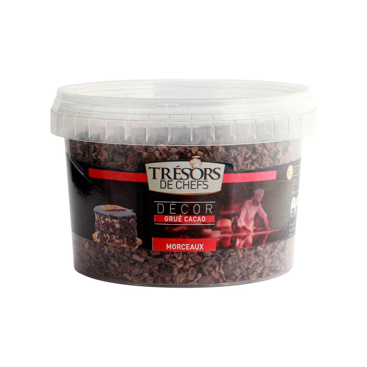 Grué de cacao (cacao en grain) 250g - Trésors de Chefs