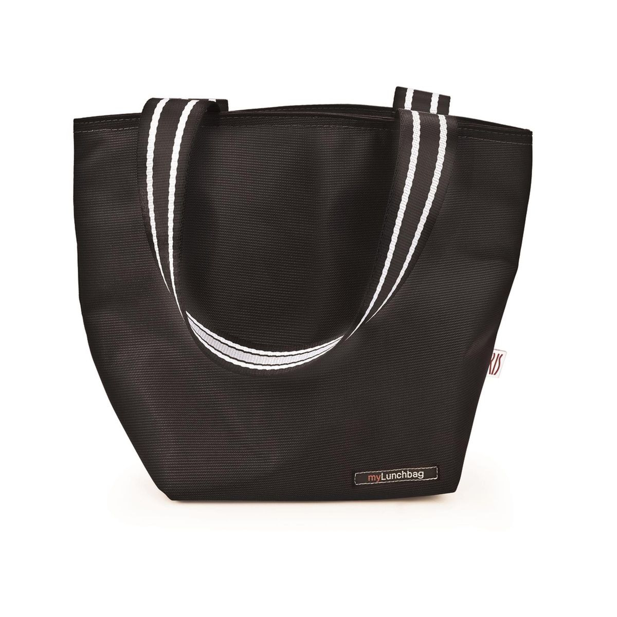 Sac lunch tote noir 3.7l - Iris