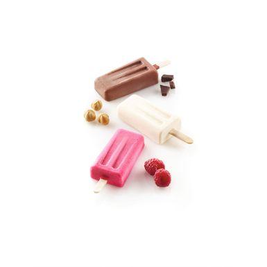 Mini Eisform Heart cacesircle cakepop Gâteau le manche Esquimaux