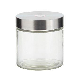 Achat en ligne Boîte de conservation en verre avec couvercle en inox 1.1L - Zeller
