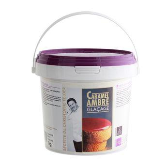 GLACAGE CARAMEL AMBRE 1KG - FELDER