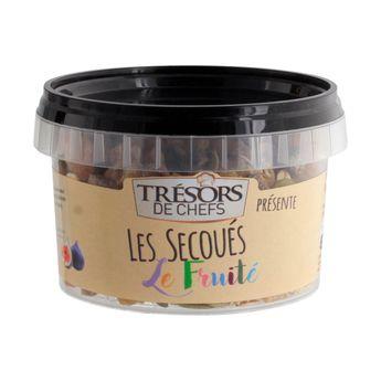 LES SECOUES MELANGE FRUITE 150G - TRESORS DE CHEFS