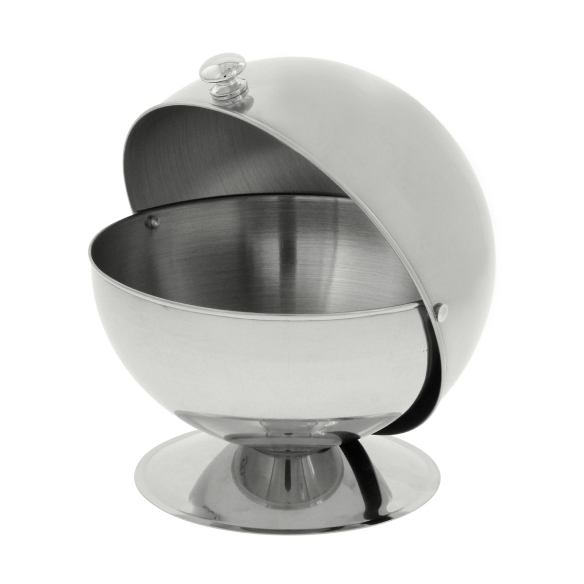 SUCRIER BOULE BISTROT 14 CM INOX - CHEVALIER DIFFUSION