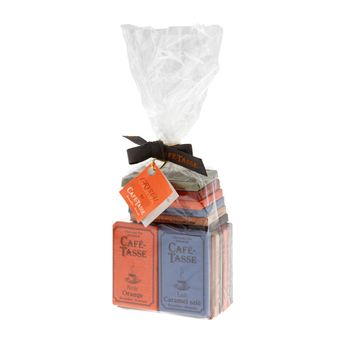 Sachet 20 mini-tablettes assorties 180gr - Choc And Co
