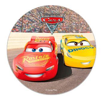 DISQUE EN AZYME CARS 3 - 16CM - DEKORA