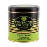Thé vert aromatisé boîte métal Sencha Calida - Compagnie Coloniale
