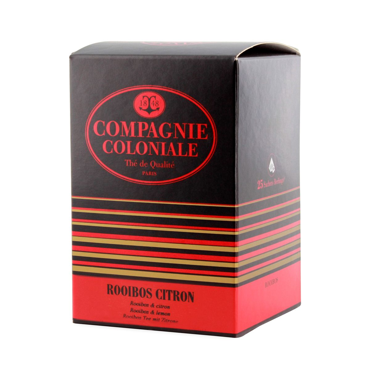 Rooibos citron sachets - Compagnie Coloniale