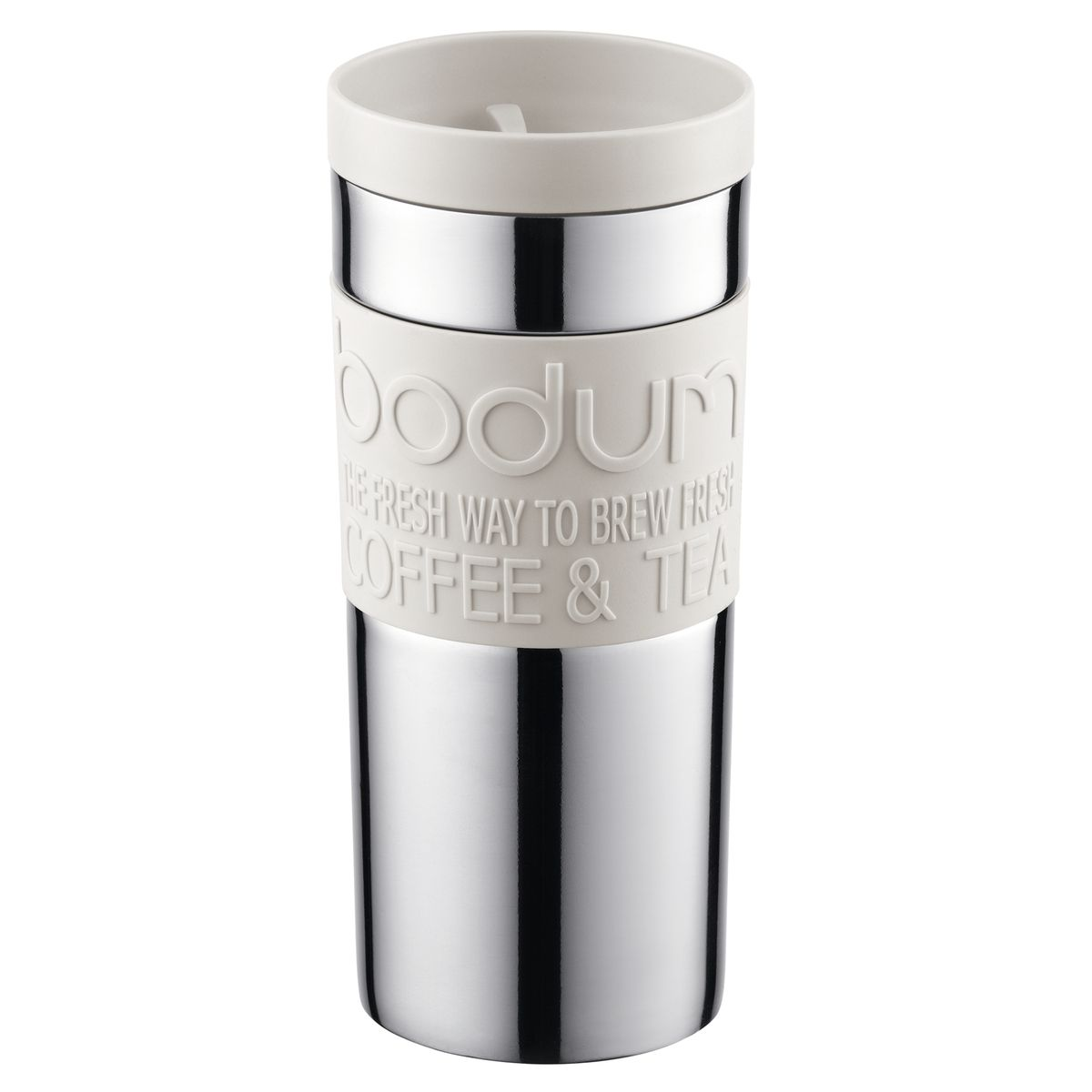 Mug isotherme en inox double paroi 35cl blanc - Bodum