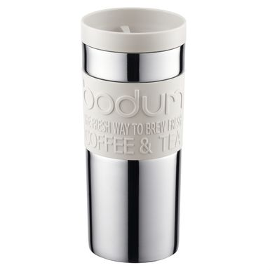 Inox Mug En Double Blanc Isotherme Paroi 35cl Bodum D9EH2I