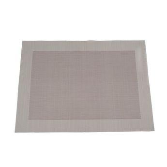 SET DE TABLE VINY´L 36X48 CHOCOLAT 100% PVC - HARMONY