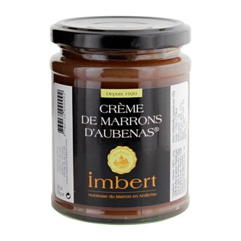 CREME DE MARRON D´AUBENA 350GR - IMBERT
