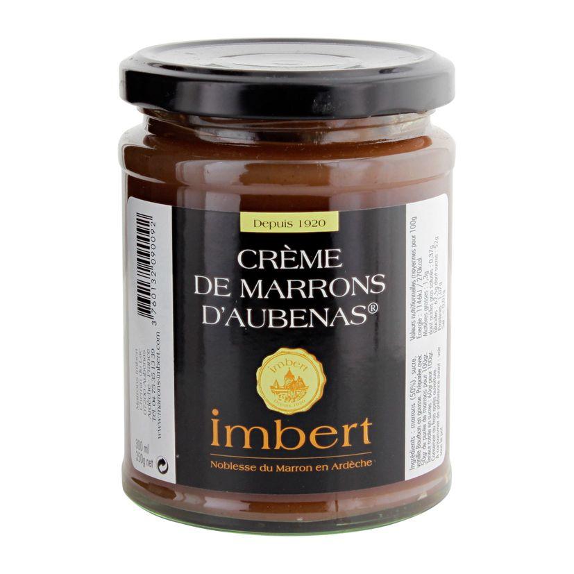CREME DE MARRON D´AUBENAS 350GR - IMBERT