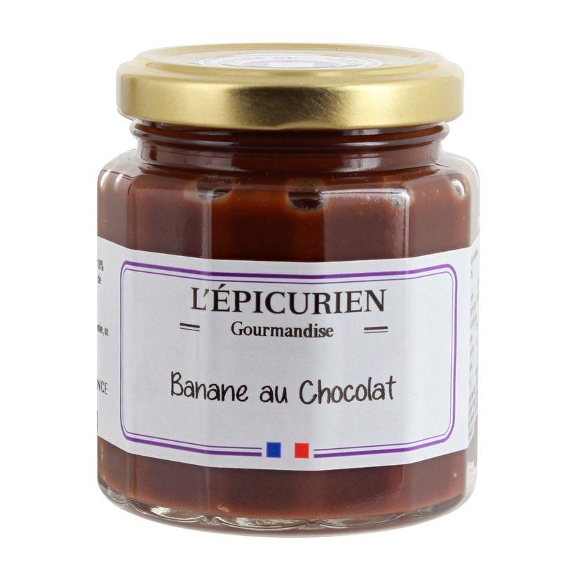 Pâte à tartiner banane au chocolat 210 g - L´Epicurien