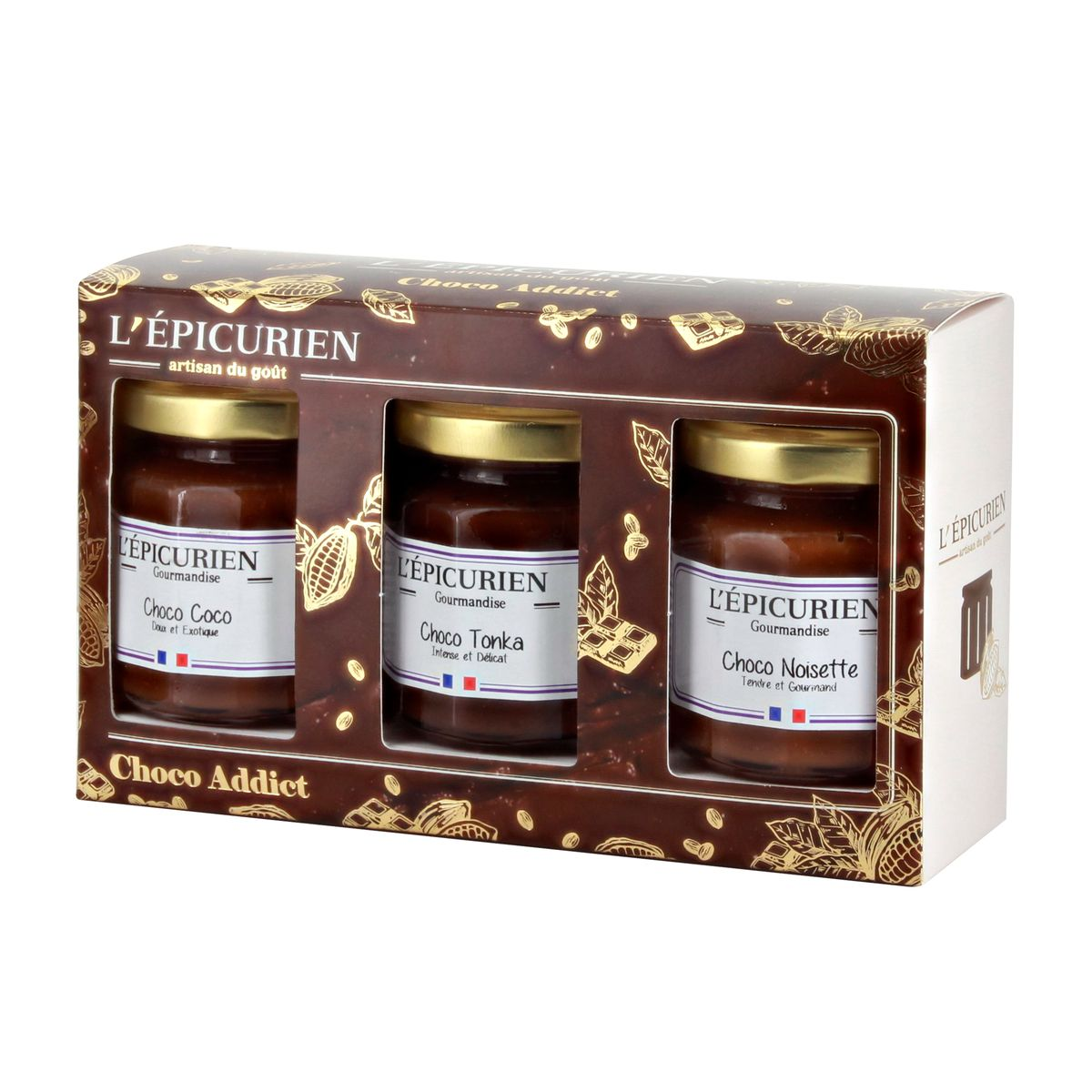 COFFRET CHOCO ADDICT - L´EPICURIEN