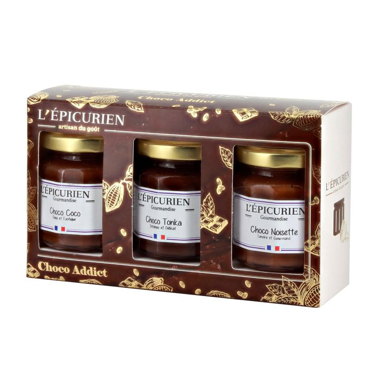 Coffret choco addict 375gr - L´Epicurien