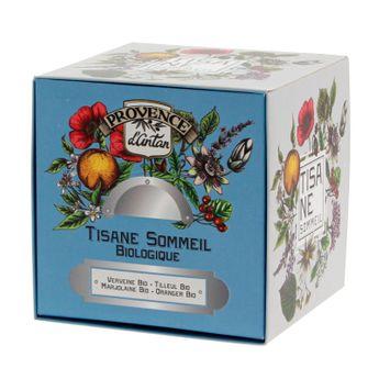Recharge tisane bio Sommeil 36g - Provence d´Antan