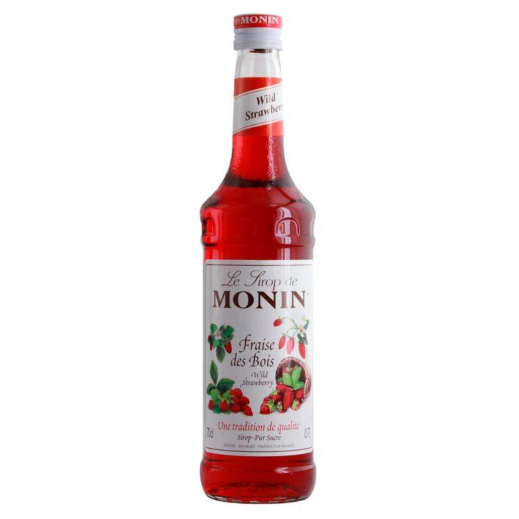 Sirop fraise des bois 70 cl - Monin