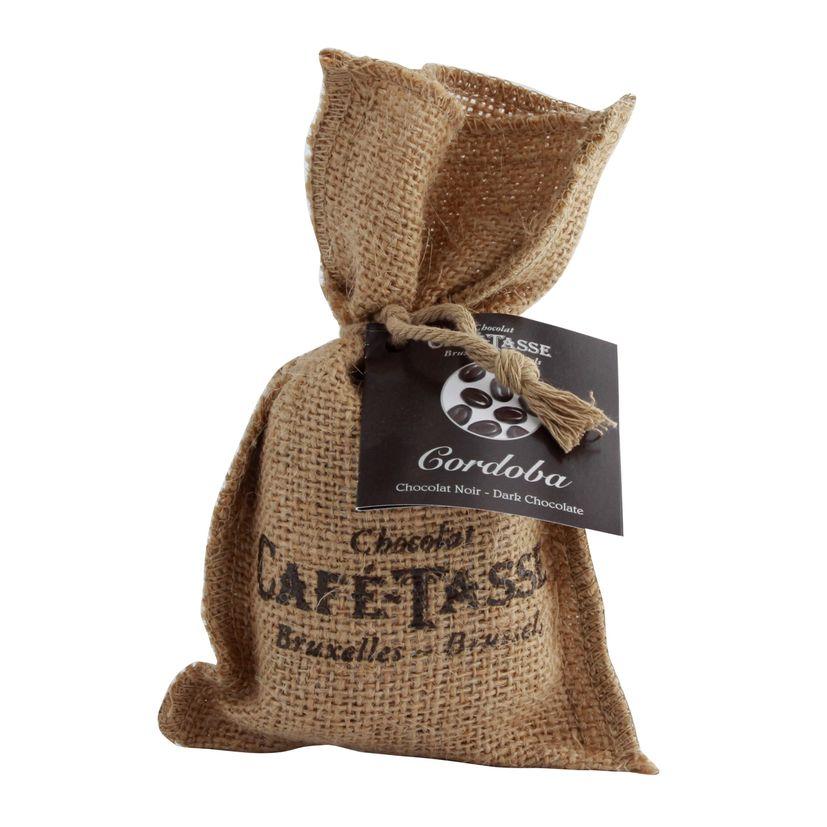 Sac Cordoba grains de café en chocolat - Cafetasse