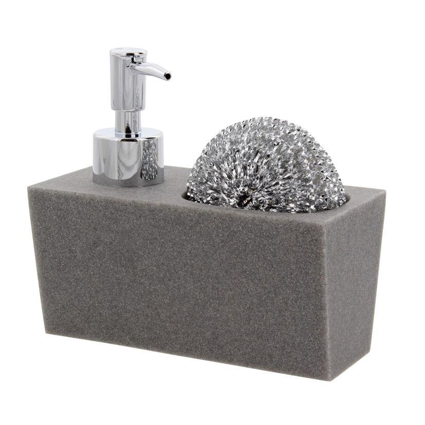 Distributeur de savon + éponge - Jja