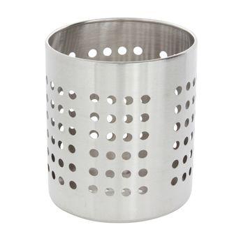 Achat en ligne Pot a ustensiles trous inox 13cm - Zeller