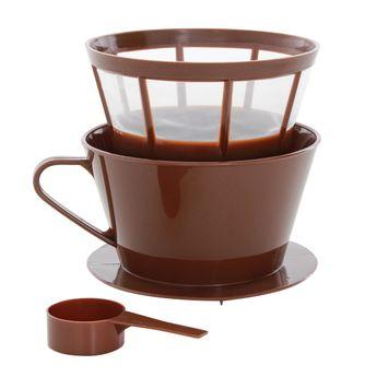 Filtres à café et cuillères à mesurer en plastique - Le´ Xpress