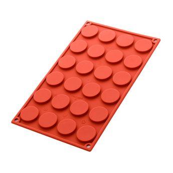Achat en ligne Moule à chocolats en silicone 24 chablons - Silikomart