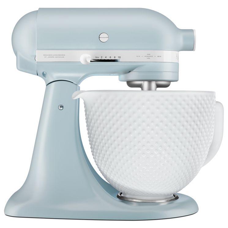Robot pâtissier Artisan édition limitée héritage bleu vintage 5ksm180rcmb - Kitchenaid