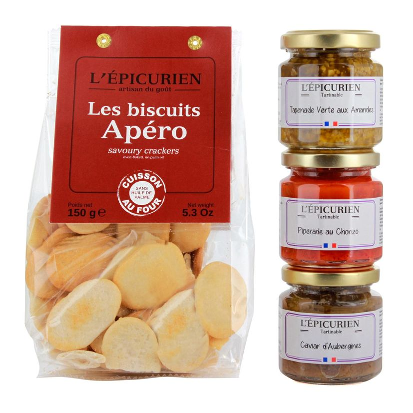 COFFRET APERO  - LEPICURIEN