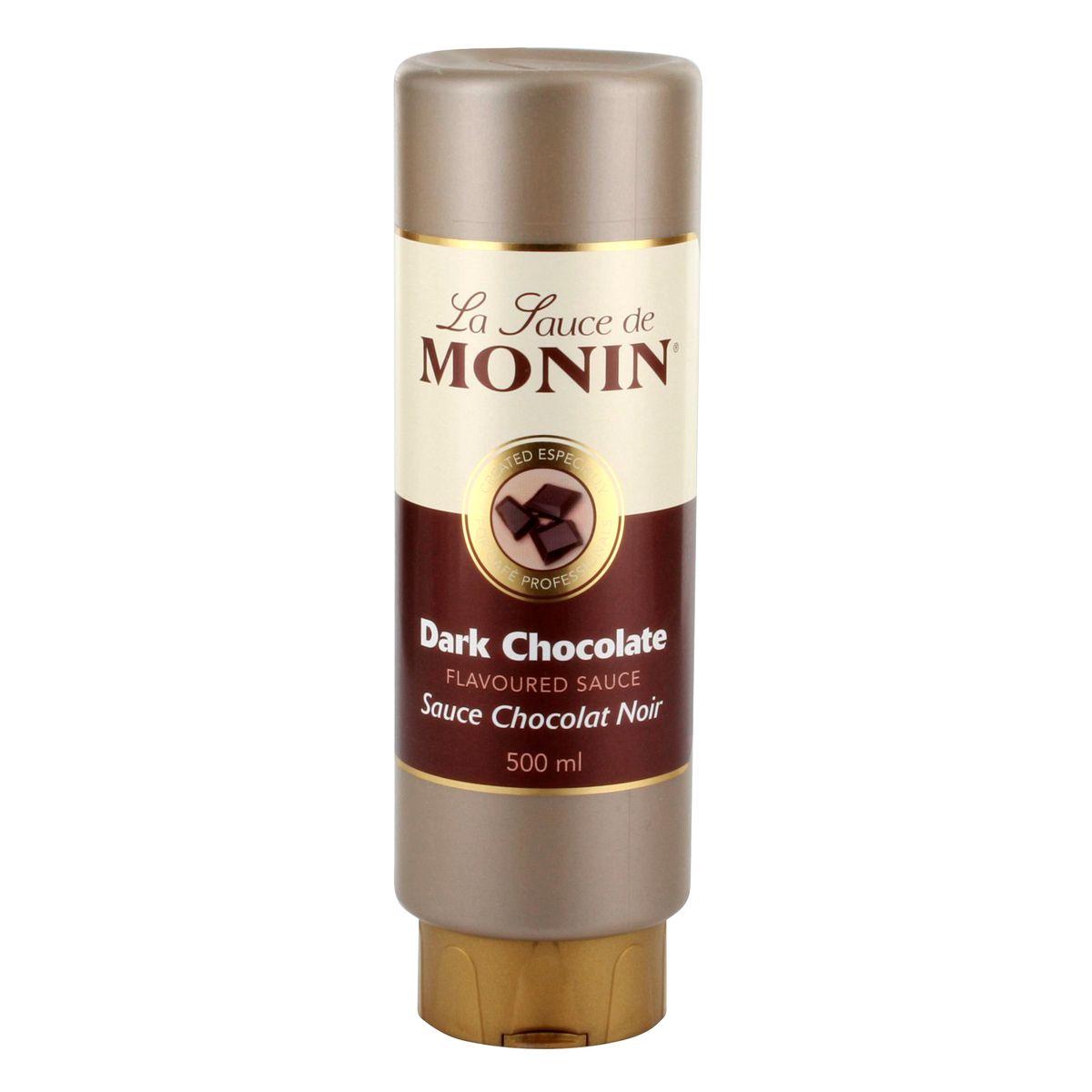 Sauce chocolat noir 50cl - Monin