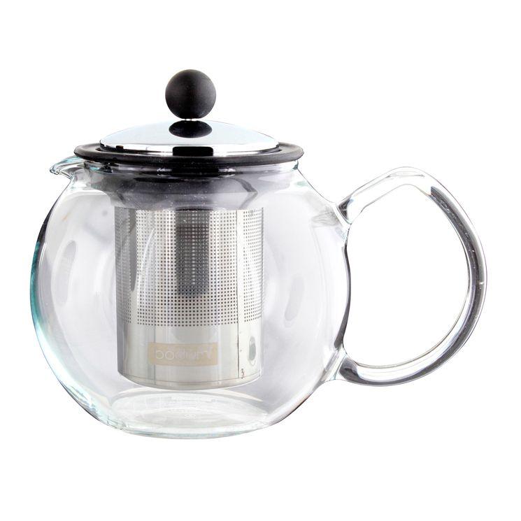 Théière en verre Assam 0.5L filtre inox - Bodum
