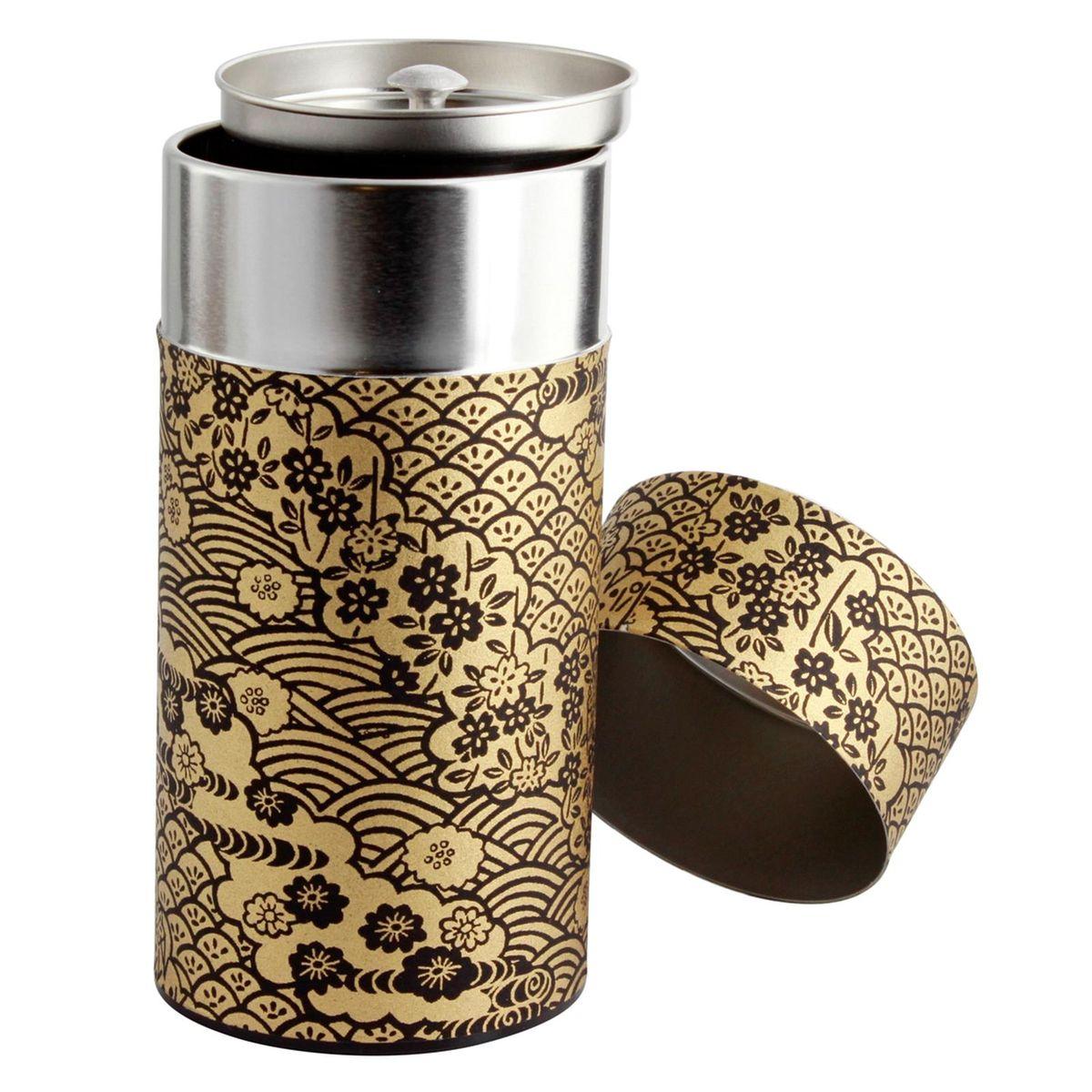 Boîte à thé 200g 7.5x15.5 cm Tsubaki - Bastide Diffusion