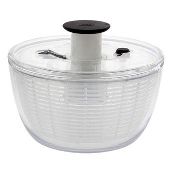 Achat en ligne Essoreuse à salade transparente Push 21 cm - Oxo