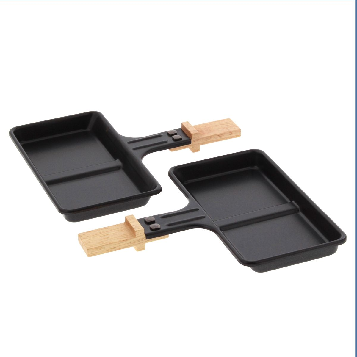 Lot de 2 poêlons doubles - Kitchen Chef
