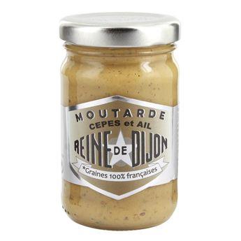 Moutarde cèpes et ail 100gr - Reine de Dijon